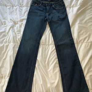 Banana Republic Flare Jean 10 Long